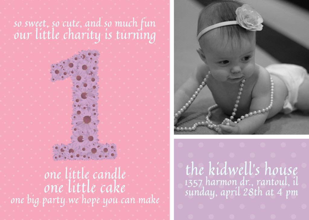 Year Old Birthday Invite FREE Download Eric E Kidwell App - Birthday invitation text for 1 year old