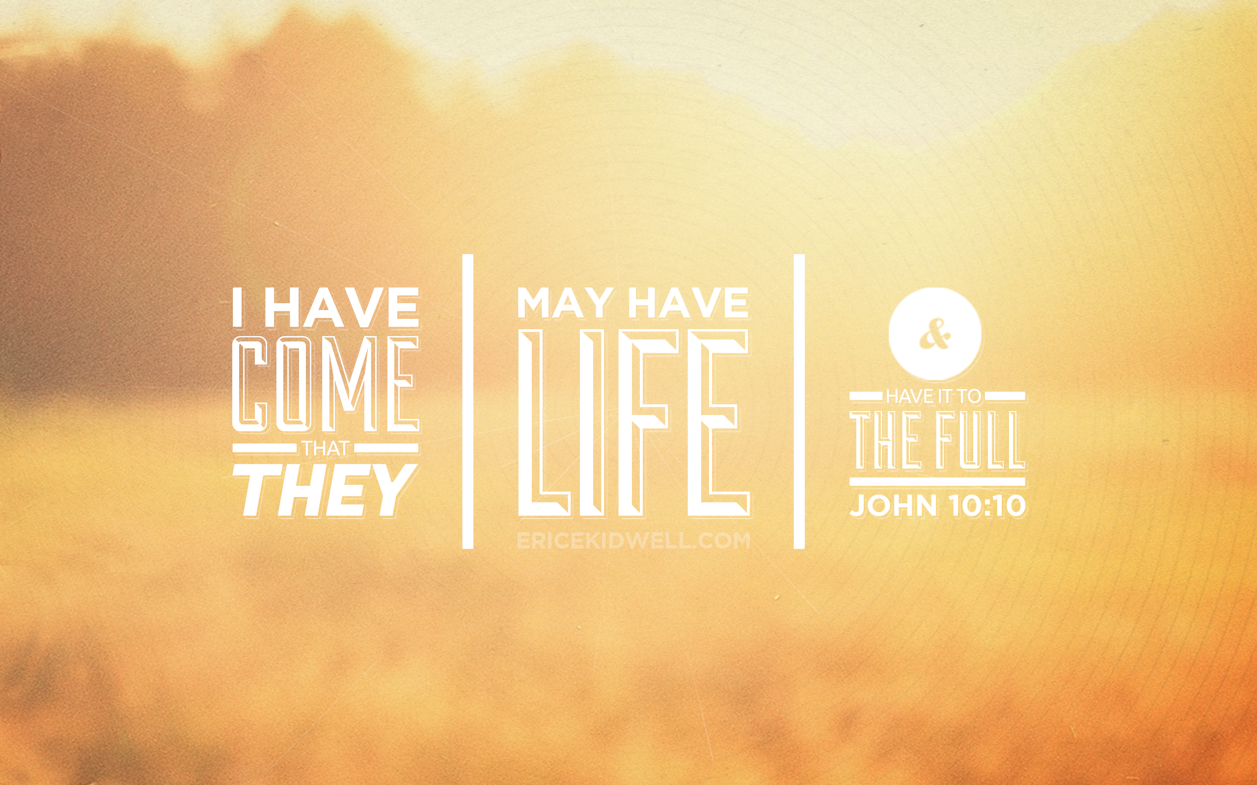 John 10:10 – FREE Download